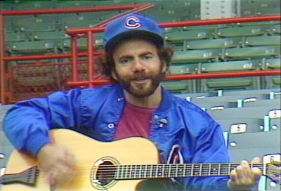 Steve Goodman at Wrigley Field, 1981